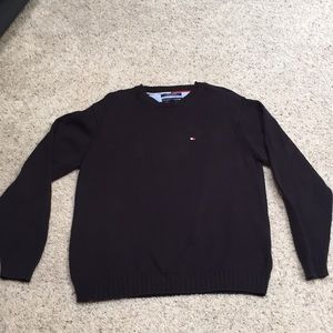 men's L Tommy Hilfiger work or play sweater.
